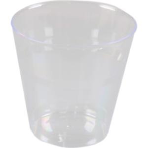 Glas 180 ml PP individueel verpakt - 500 stuks