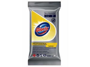 Glorix Pro Formula Multifunctionele Reinigingsdoekjes, 4 x 100 stuks