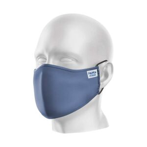 Gezichtsmasker Huhta Mask Delft blauw, per stuk