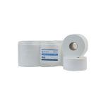 Doseer.nl toiletpapier mini jumbo 2-lgs 150 mtr, 12 rollen